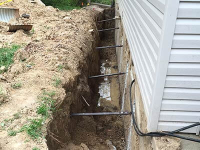 Steel Beam Foundation Repair