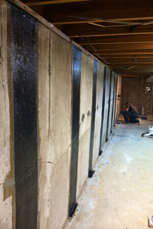 Foundation Wall Stabilization