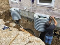 Egress Wells Installation