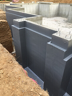 New Construction Waterproofing - Luxor Lifetime Waterproofing